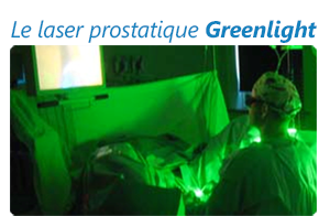 Laser prostatique greenlight